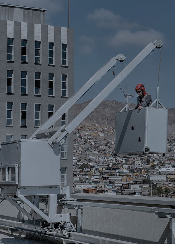 Antofagasta Hospital building cleaning and maintenance